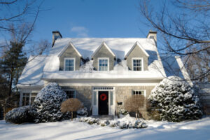 Winter Landscaping Curb Appeal