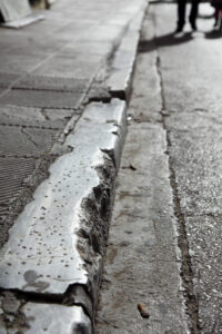 Damaged curbs are unappealing and dangerous.