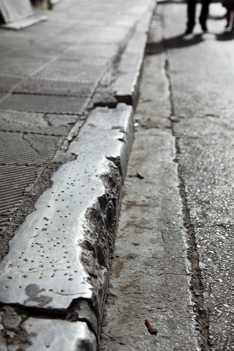 Commercial Concrete Curb Repair And Replacement Atlantic