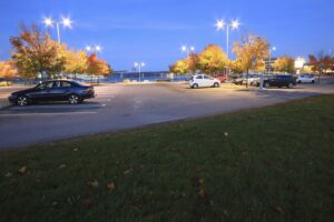 Why a Well-Maintained Asphalt Parking Lot Matters for Your Business